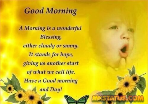 Top Good Morning wishes Quotes for FB status