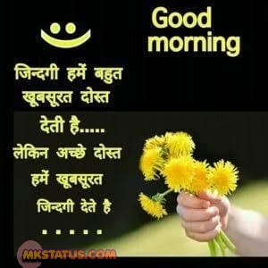 Good Morning Quotes in Hindi pics