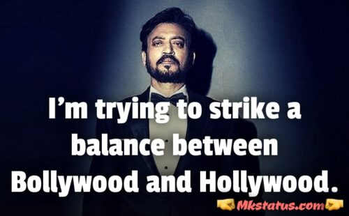Irrfan khan Quotes images