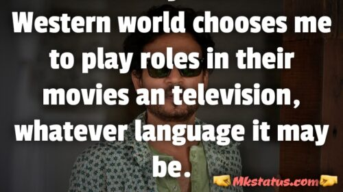 Irrfan khan Motivational Quotes in English images