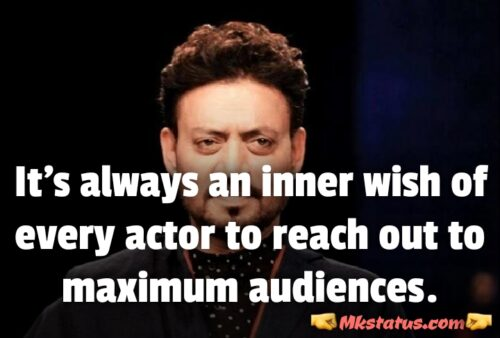 Irrfan khan New Movies Quotes in English images