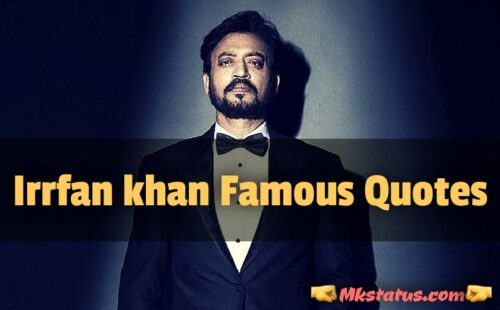 Irrfan khan Quotes for Motivation Images for status
