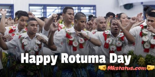 Happy Rotuma Day 2020 wishes images for status