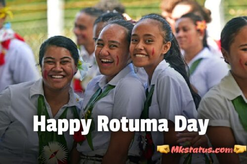 Happy Rotuma Day 2020 wishes images for FB status