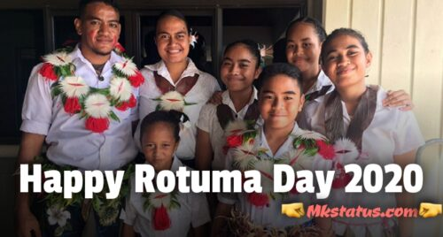 Top Happy Rotuma Day 2020 wishes images