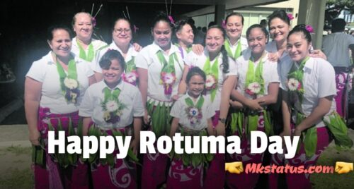 Happy Rotuma Day 2020 wishes images and pics