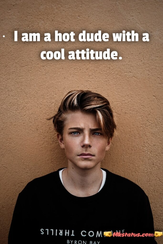 Best Attitude quotes for boys images