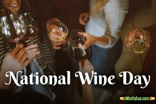 Happy National Wine day 2020 images