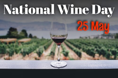 Latest National Wine Day Wishes Images for status