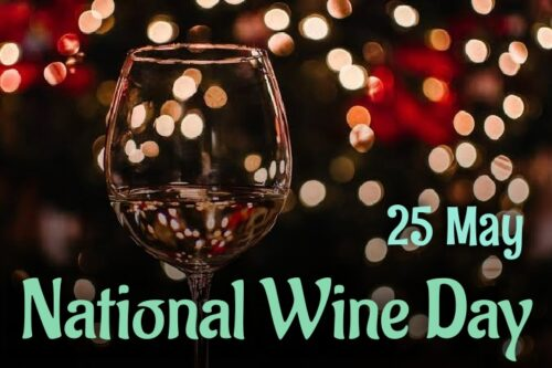 25th May Happy National Wine day 2020 images