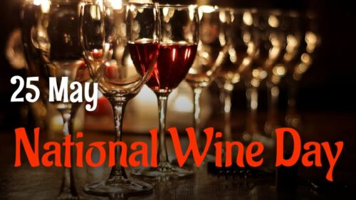 25 May National Wine Day 2020 Wishes Images status