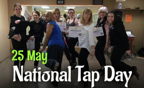 Best new National Tap Dance Day wishes images
