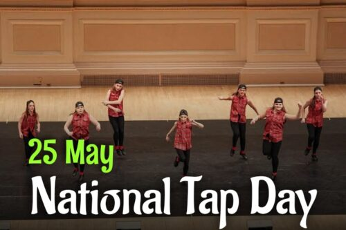 25th May Happy National Tap dance Day images