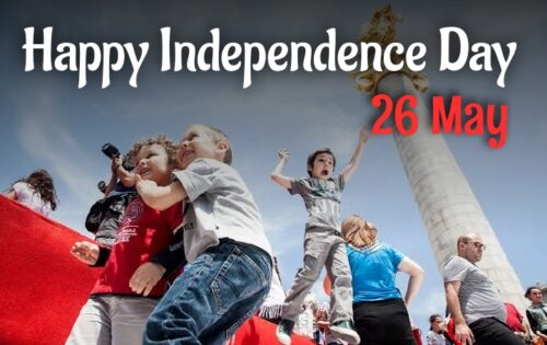 26 May Georgia Independence Day wishes images