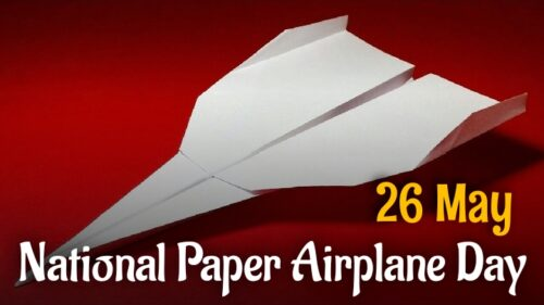Beautiful National Paper Airplane Day 2020 wishes images