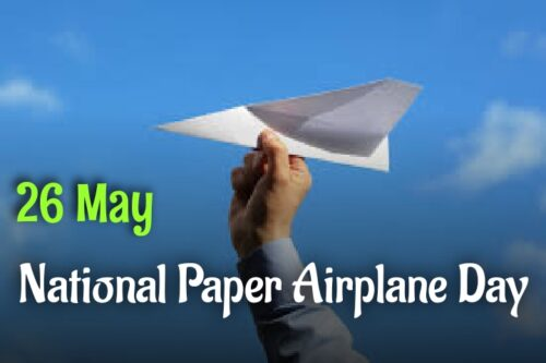 Download National Paper Airplane Day wishes images
