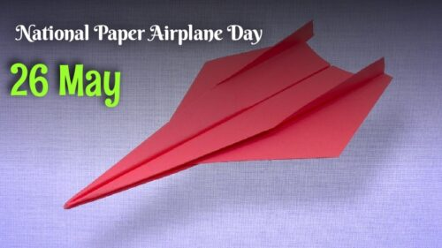 National Paper Airplane Day - 26 May Images and Photos