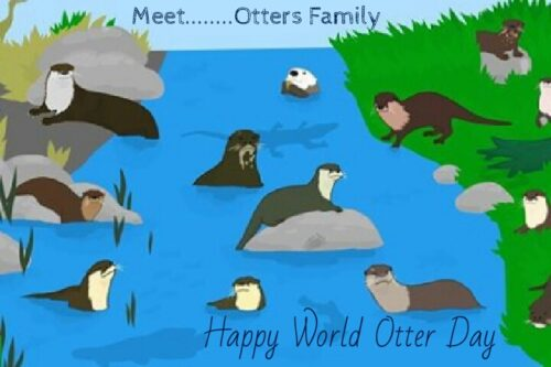 Happy World Otter Day Images