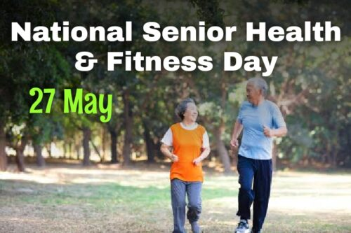 National Senior Health & Fitness Day Images for Status