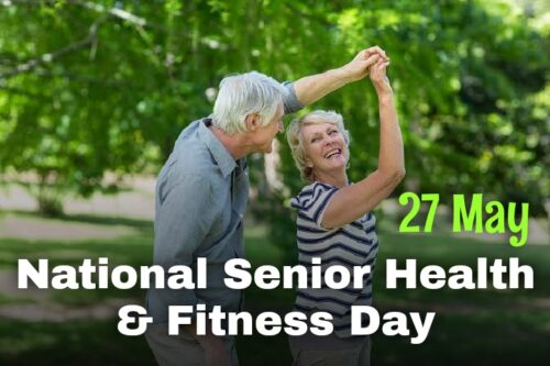 Download 27 May National Senior Health & Fitness Day Images