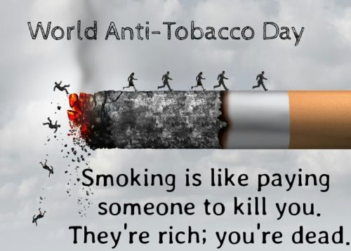 World No Tobacco Day 2020 Messages