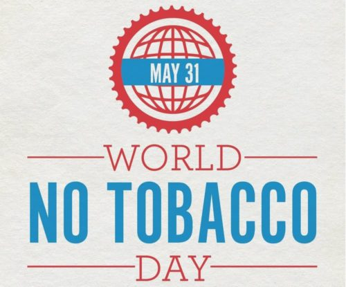 Celebrate this 31st May World No-Tobacco Day