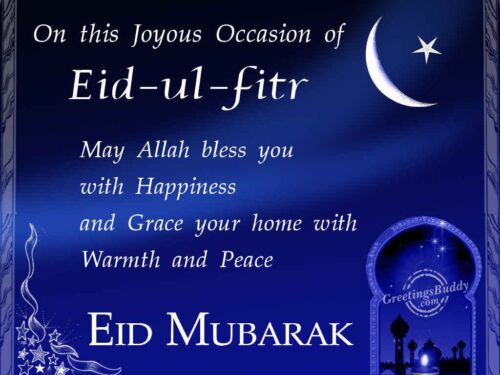Happy Eid ul Fitr Mubarak Wishing Messages and Quotes