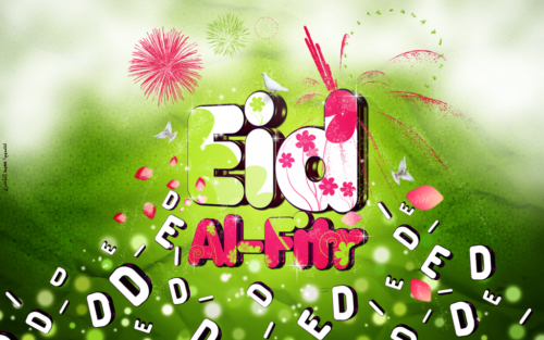 New Animation 3D images of Happy Eid ul Fitr Mubarak