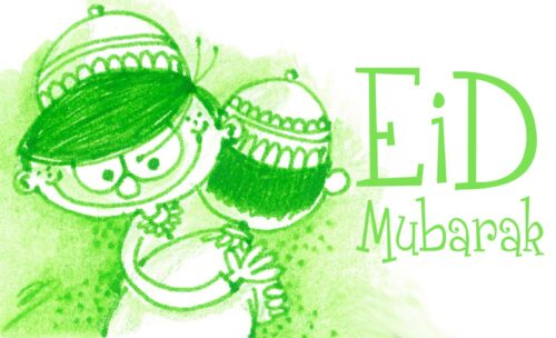 New Creative images of Happy Eid ul Fitr Mubarak