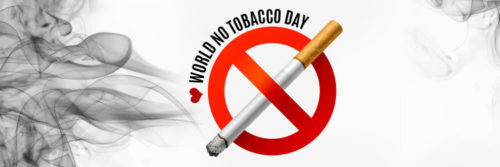 Widescreen images of World No-Tobacco Day 2020