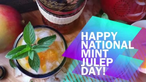 Happy National Mint Julep Day