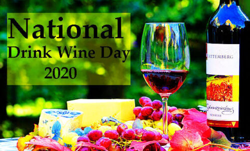 Happy Wine day 2020 images