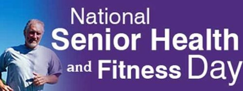 27 May National Senior Health & Fitness Day Images