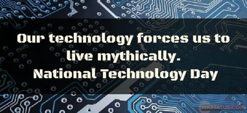 National Technology Day wishes