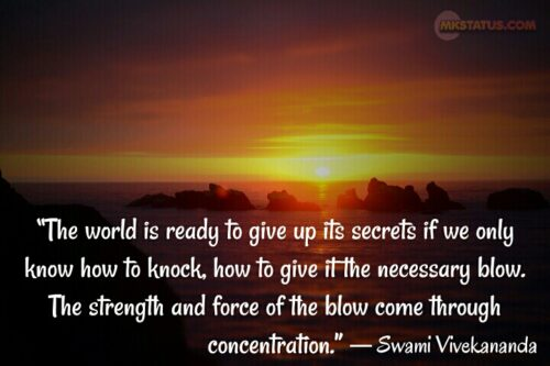 Swami Vivekananda Motivational Quotes in English
