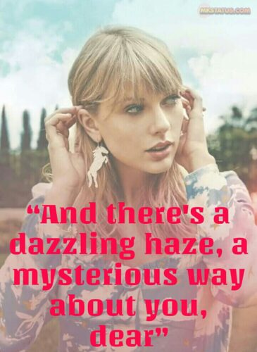 Taylor Swift Lover Captions