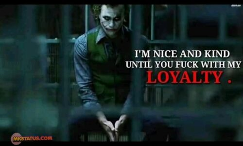 Inspirational Joker Quotes images