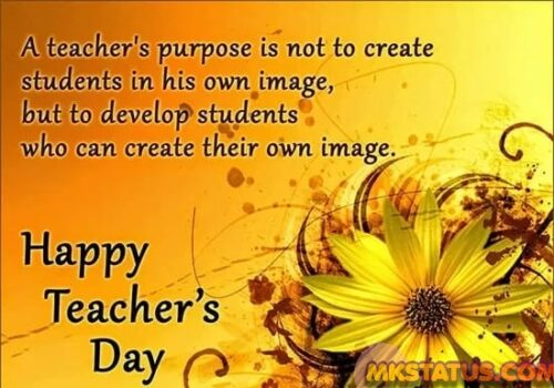 Lovely Teacher Day Quotes images