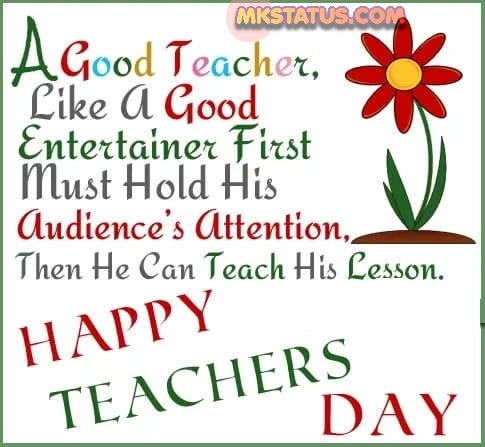 Best greeting card for teacher's day