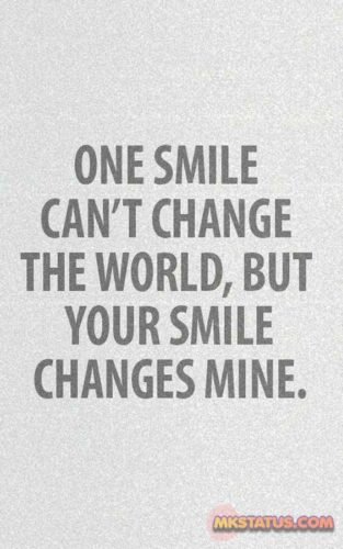 Latest Smile Quotes Images in English
