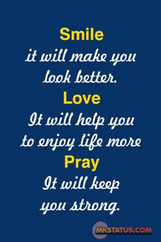 Smile quotes for love images for status