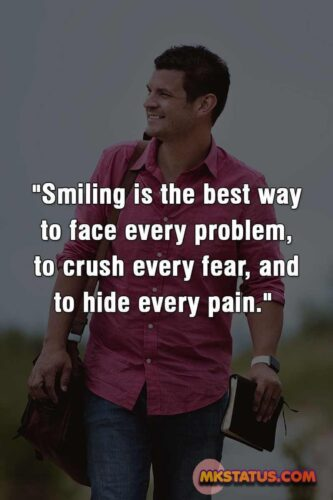 Smile Quotes for Boys Images in English