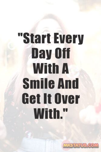 Smiling Quotes images for status