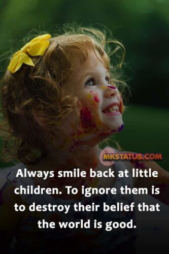 Smile Quotes for Kids Images in English