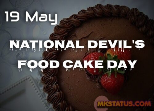Celebrate Happy National Devil's Food Cake Day