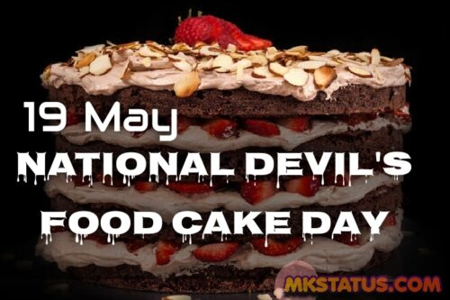 National Devil's Food Cake Day 2020 Photos for Whatsapp status and DP