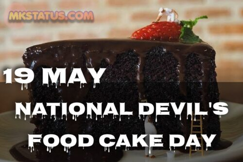 National Devil's Food Cake Day 2020 images for status