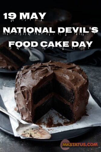 National Devil's Food Cake Day greeting images