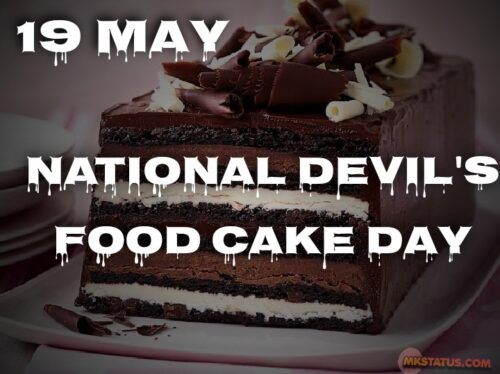 19 May National Devil's Food Cake Day 2020 images