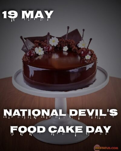 Happy National Devil's Food Cake Day 2020 Photos